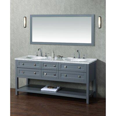 Brayden Studio Double Bathroom Vanity Set Mirror Vanities