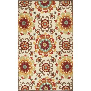 Natalia Brick Indoor/Outdoor Rug