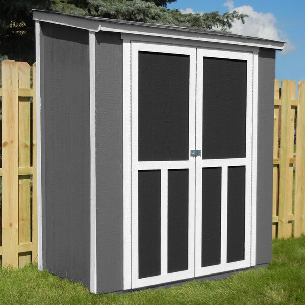 Maumee 6 ft. W x 3 ft. D Wood Storage Shed by Handy Home