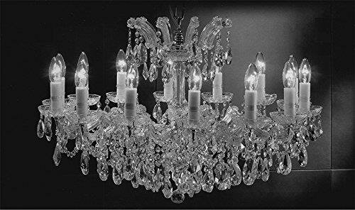 Alvarado Swarovski 14-Light Traditional Candle Style Chandelier by Astoria Grand