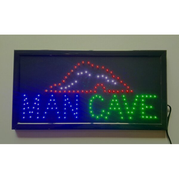 Electrical Man Cave LED Sign by Creative Motion