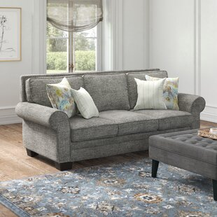 Scott 90 Rolled Arm Sofa by Feminine French Country