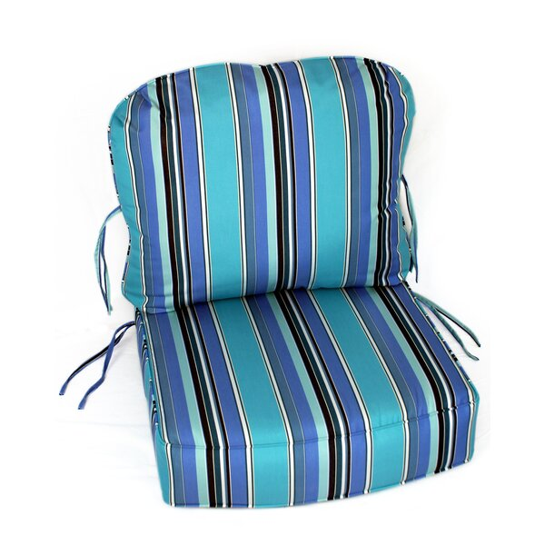 Indoor/Outdoor Sunbrella Deep Setting Chair Cushion by Comfort Classics Inc.