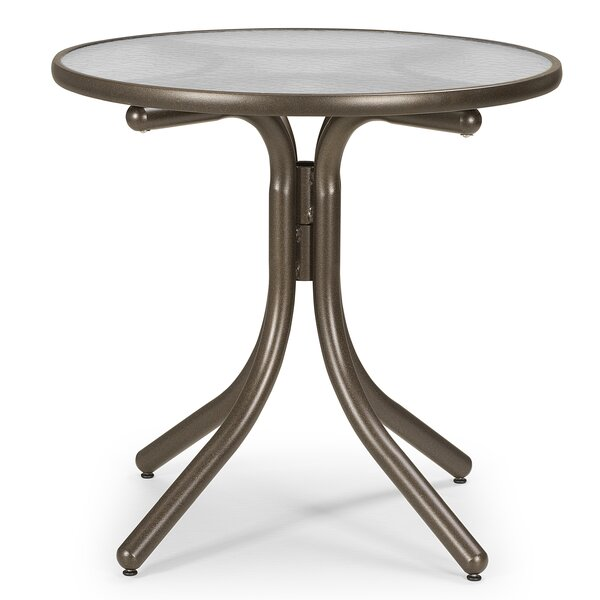 Obscure Acrylic Round Dining Table by Telescope Casual