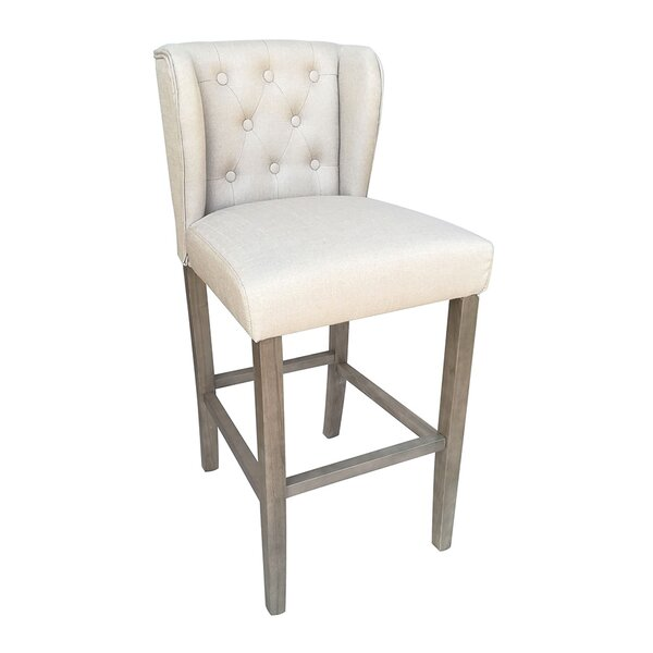 Octavius Contemporary 29.5 Bar Stool by Laurel Foundry Modern Farmhouse