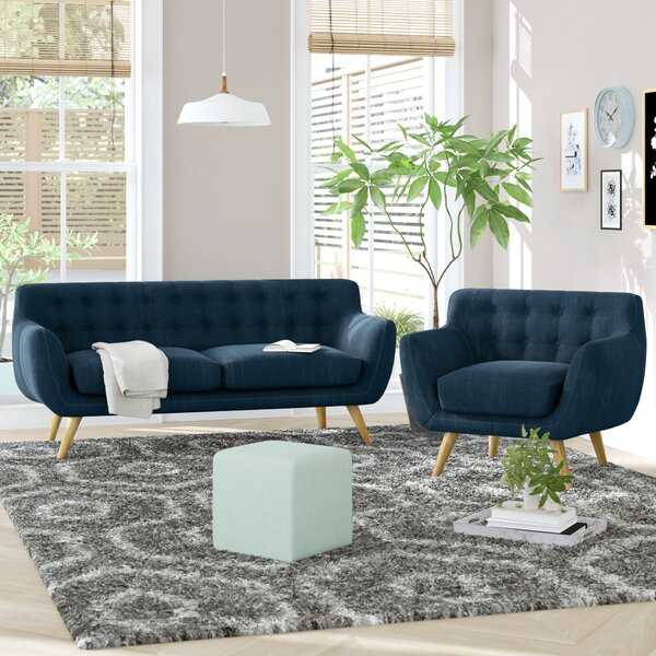 #2 Meggie 2 Piece Living Room Set By Langley Street Spacial Price