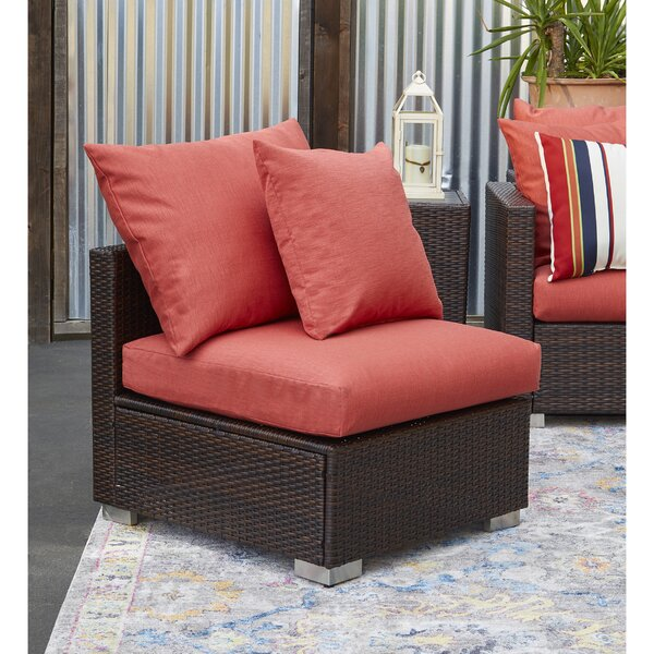 Mcmanis Outdoor Rattan Patio Chair with Sunbelievable Cushions by Ivy Bronx