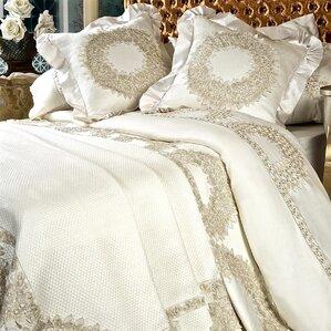 lace wreath 6 piece duvet cover set