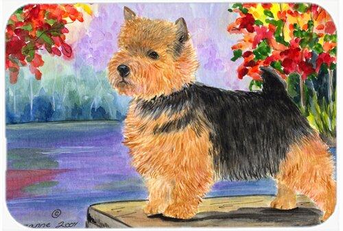 Norwich Terrier Rectangle Non-Slip Bath Rug