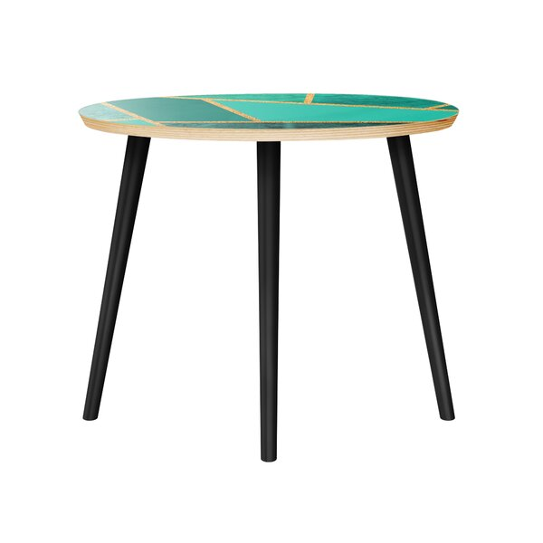 Mcgarvey End Table by Brayden Studio