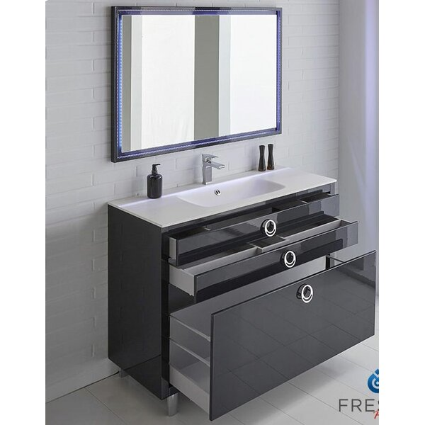 Platinum 48 Due Single Bathroom Vanity Set by Fresca