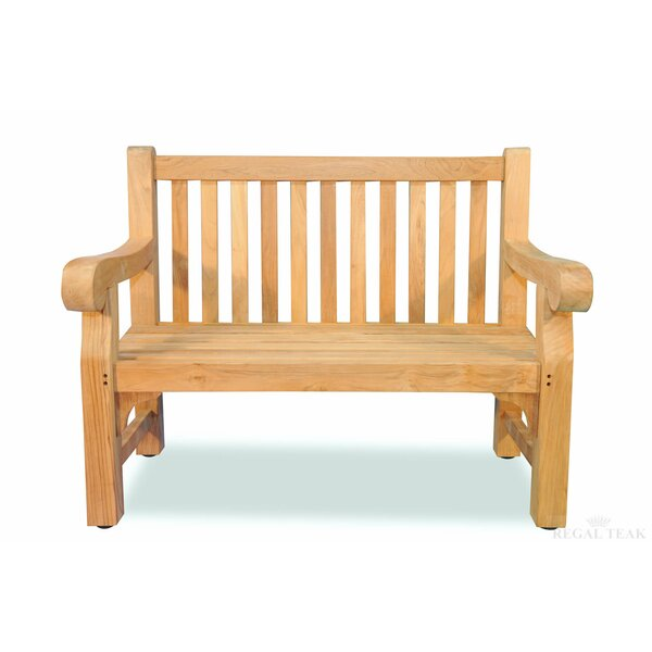 Hester Street Teak Garden Bench by August Grove