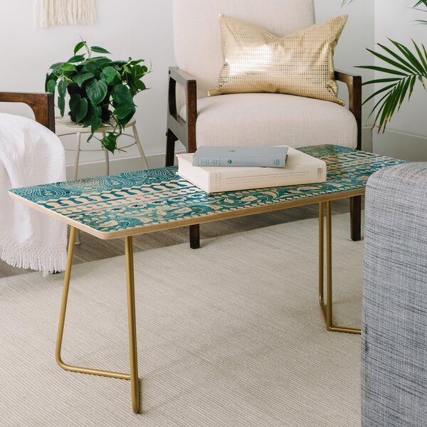 Schatzi Bodhi Bohemian Coffee Table by East Urban Home