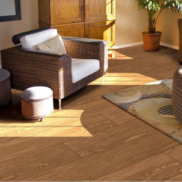 Alpine 6 x 36 Porcelain Wood-Look Plank Tile in Mocha by Emser Tile