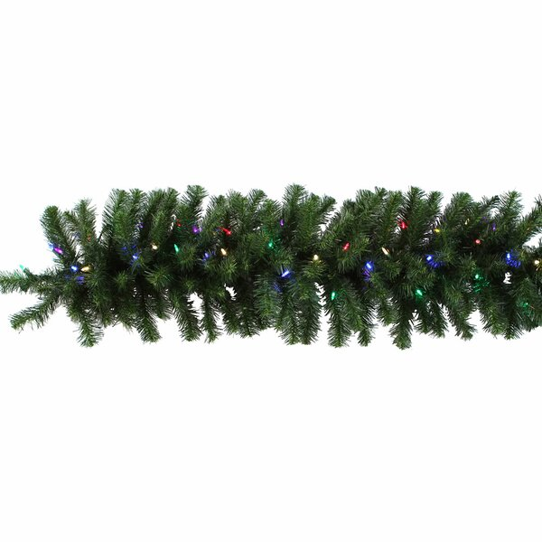Douglas Fir Pre-Lit Garland by The Holiday Aisle