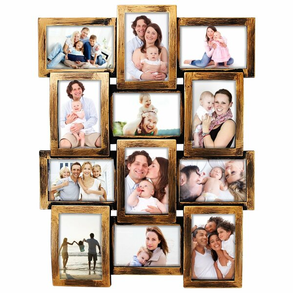 Douthitt Gallery Style Wall Hanging 12 Opening Photo Sockets Picture Frame by Gracie Oaks