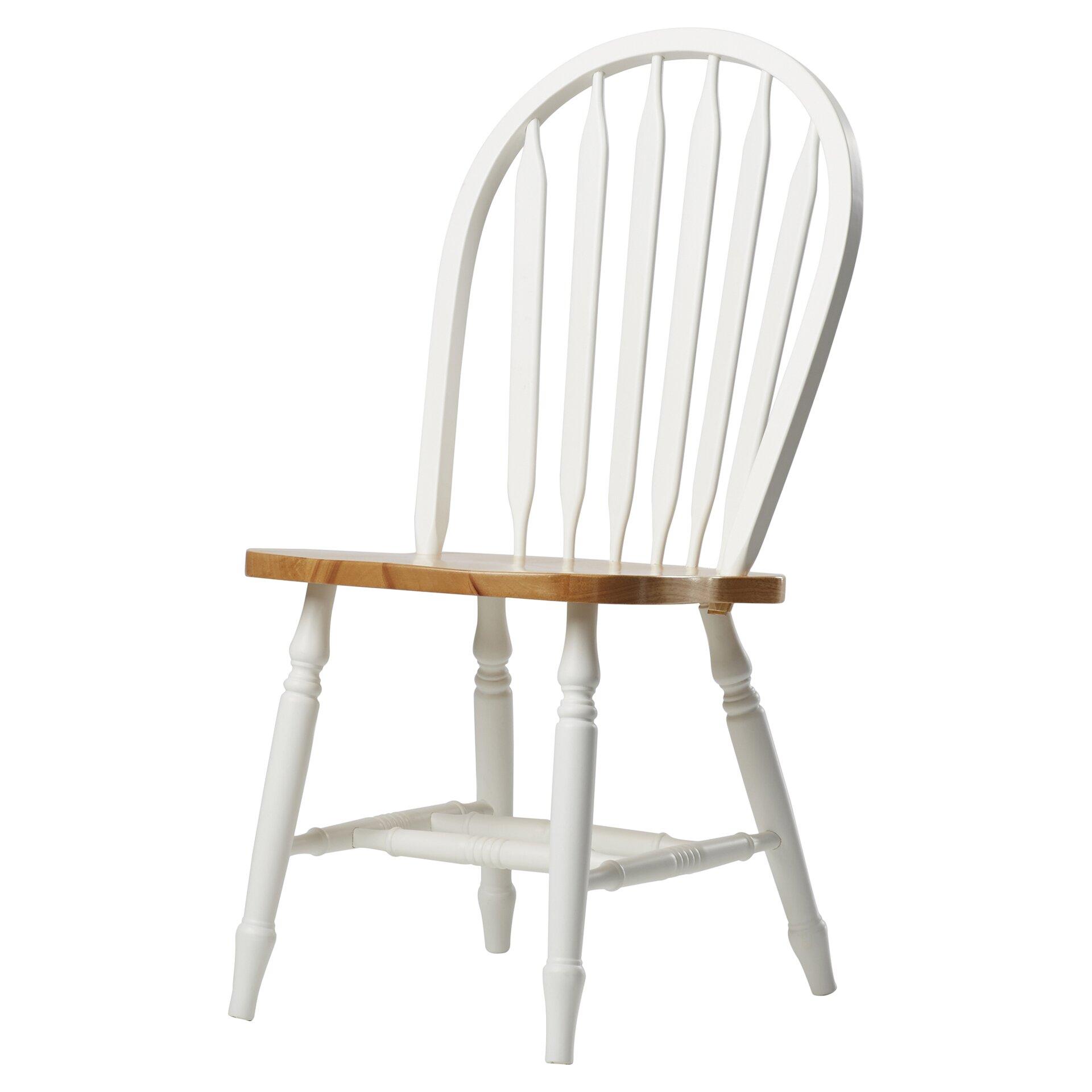 Audette Windsor Arrowback Solid Wood Dining Chair