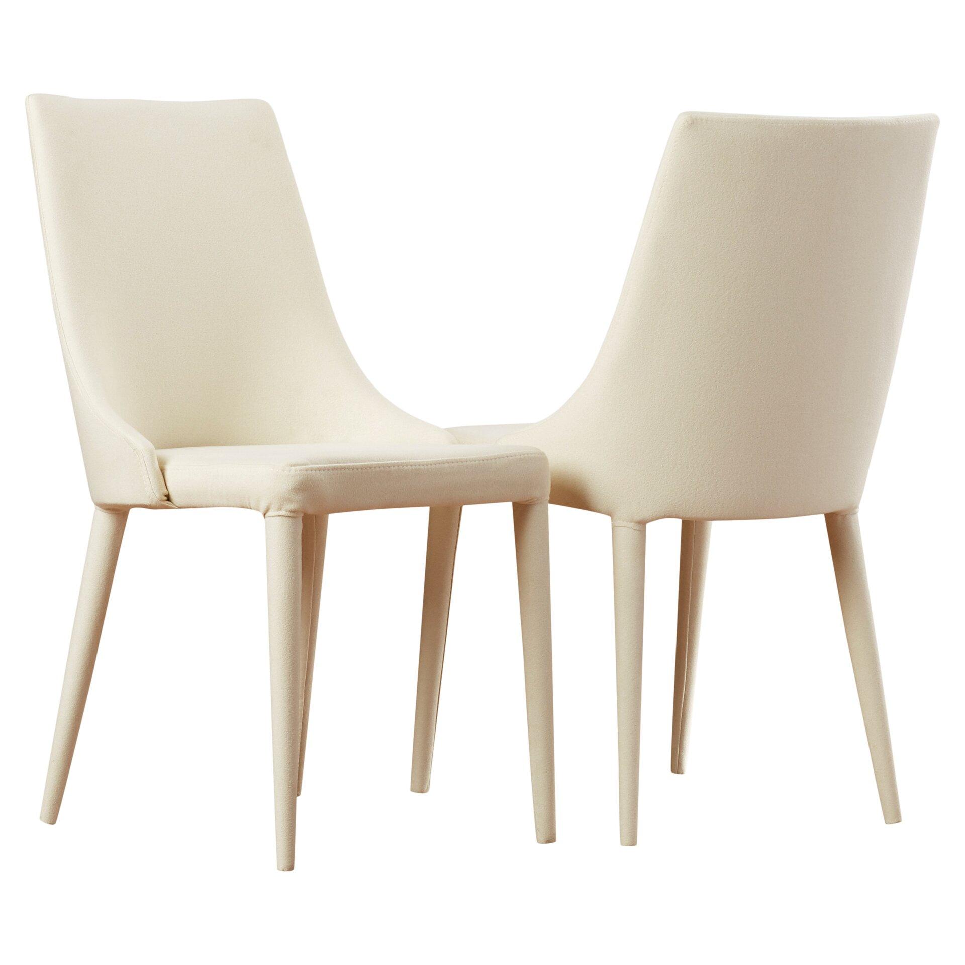 Corrigan Studio Lebron Side Chair In Cloth Sponge Linen