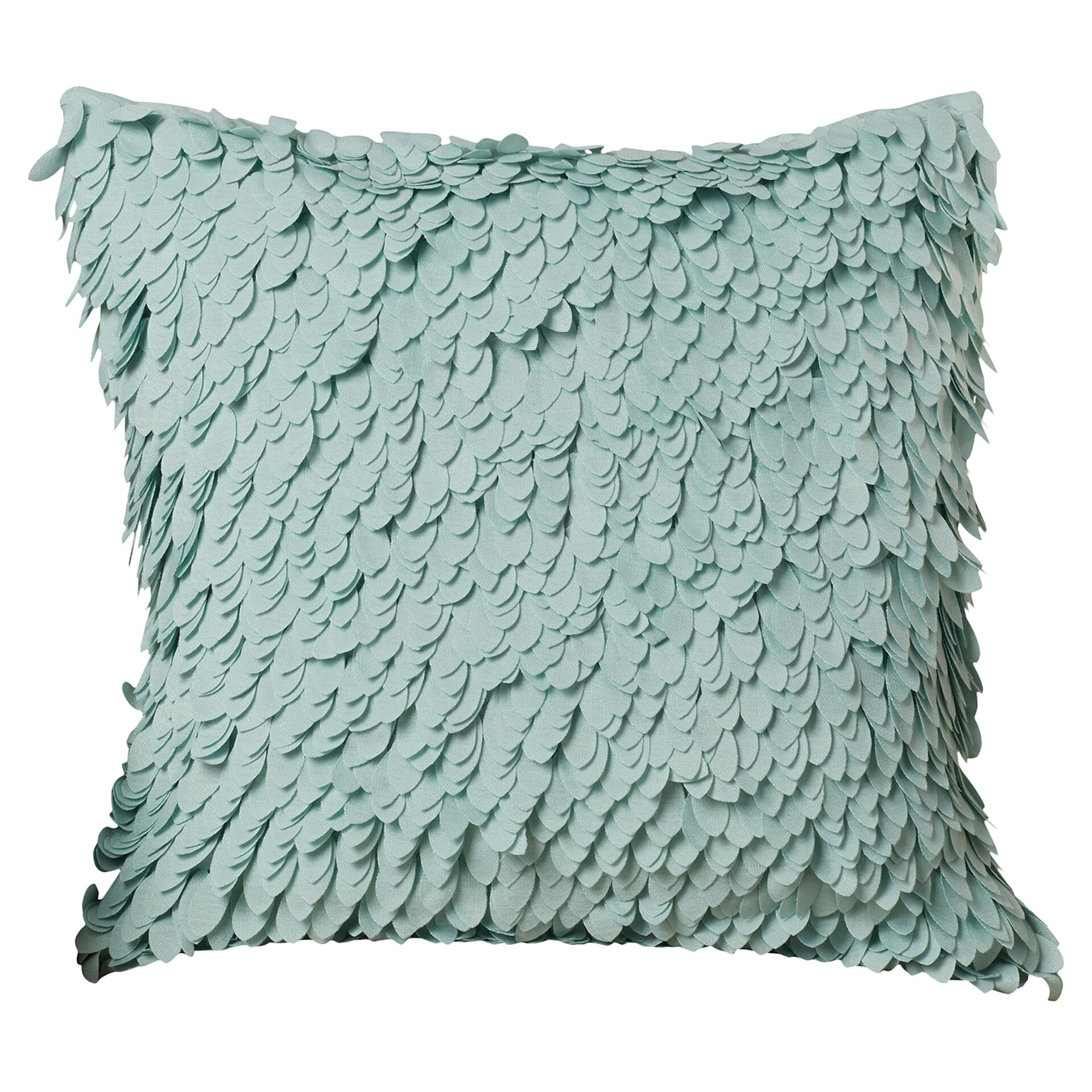 Throw Pillows With Ruffle Edge : House of Hampton Luanna Ruffle Throw Pillow & Reviews Wayfair.ca