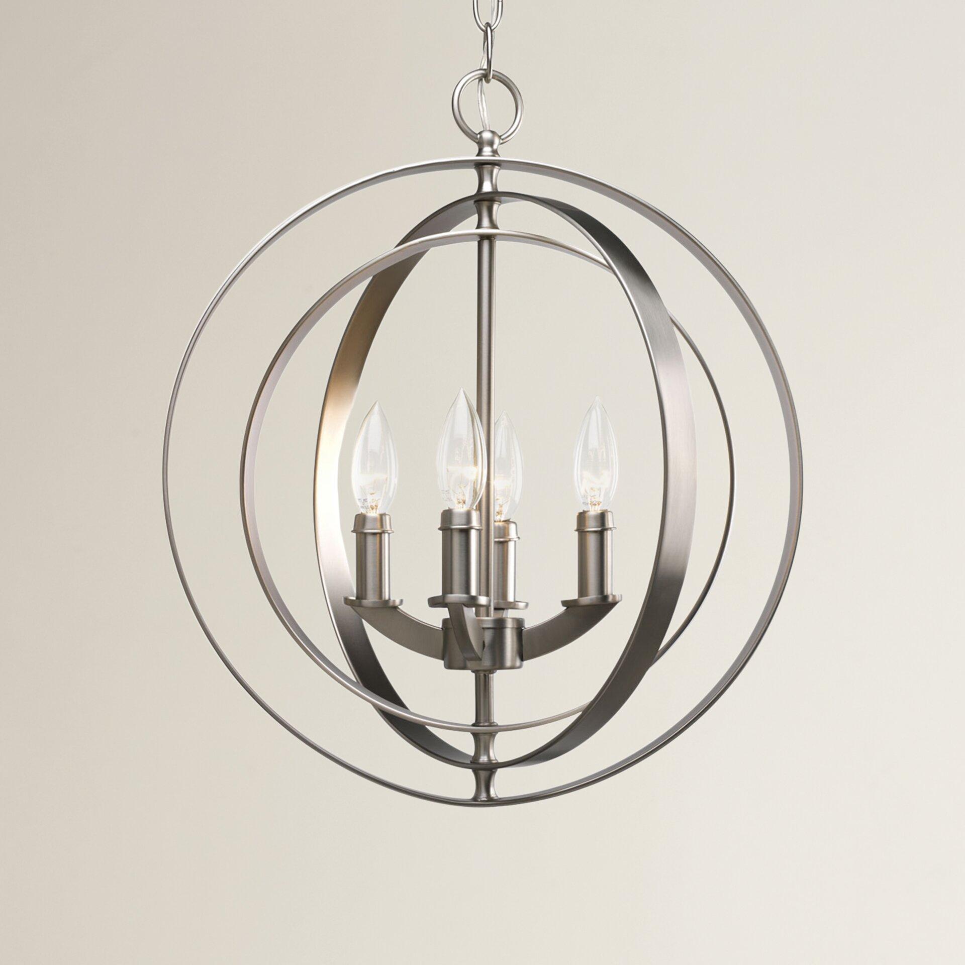 Morganti 4 Light Globe Pendant Amp Reviews