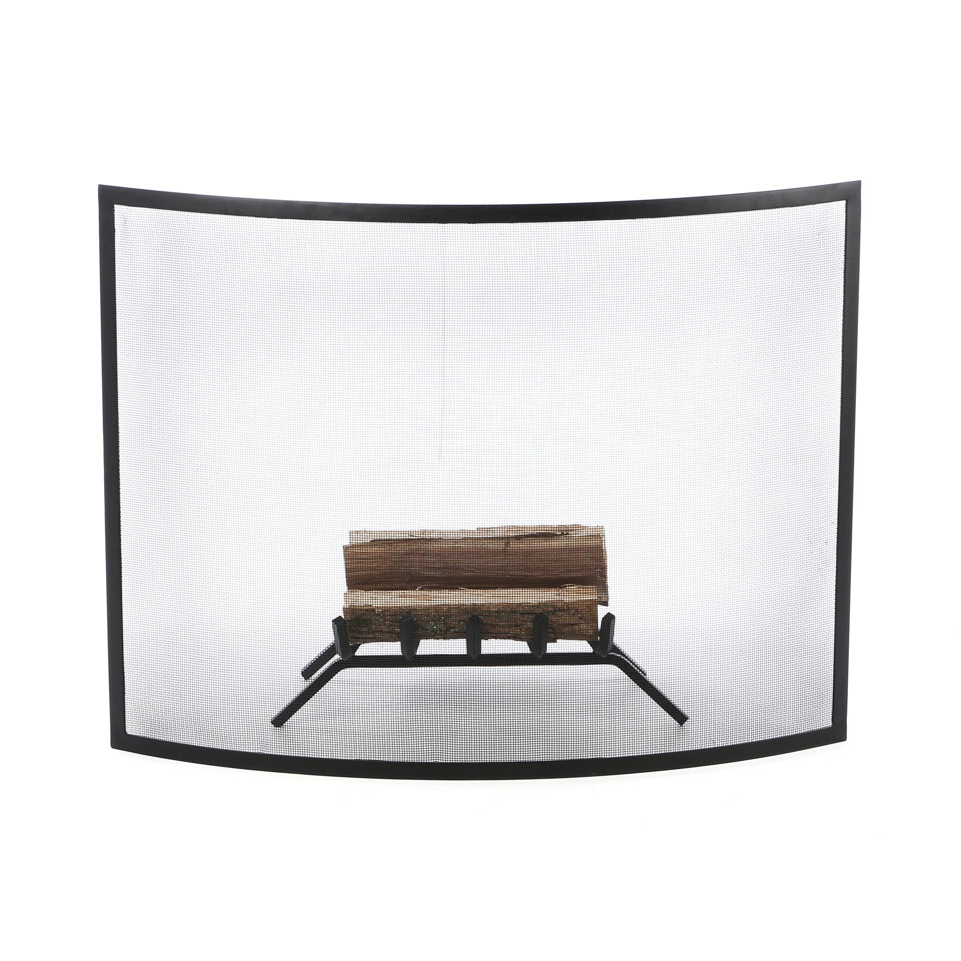 Single Panel Fireplace Screen highwindsus