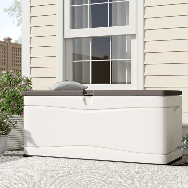 130 Gallon Plastic Storage Bench By Lifetime