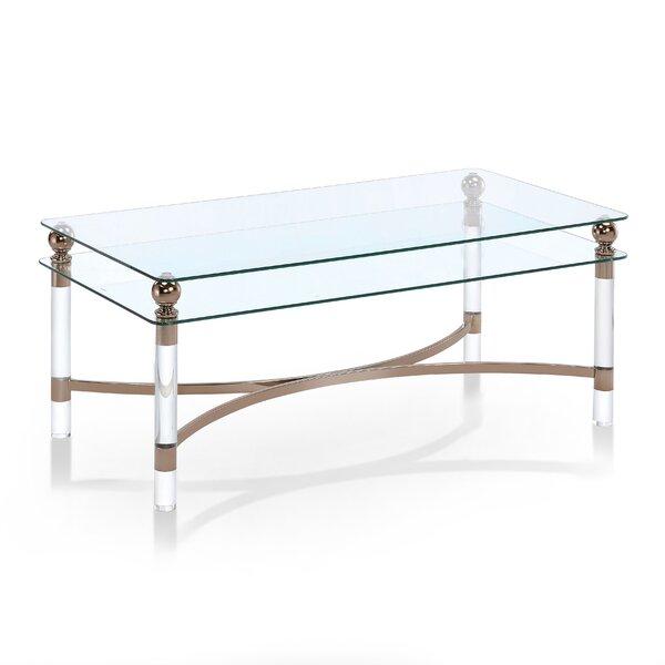 Willa Arlo Interiors Glass Top Coffee Tables