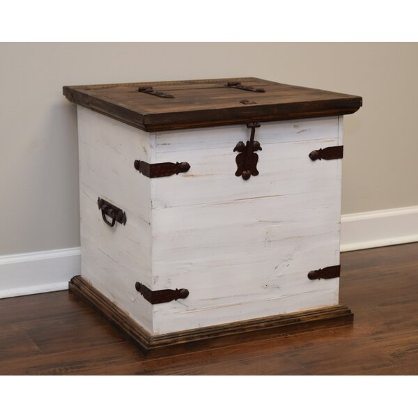 Cargo End Table With Storage By Gracie Oaks