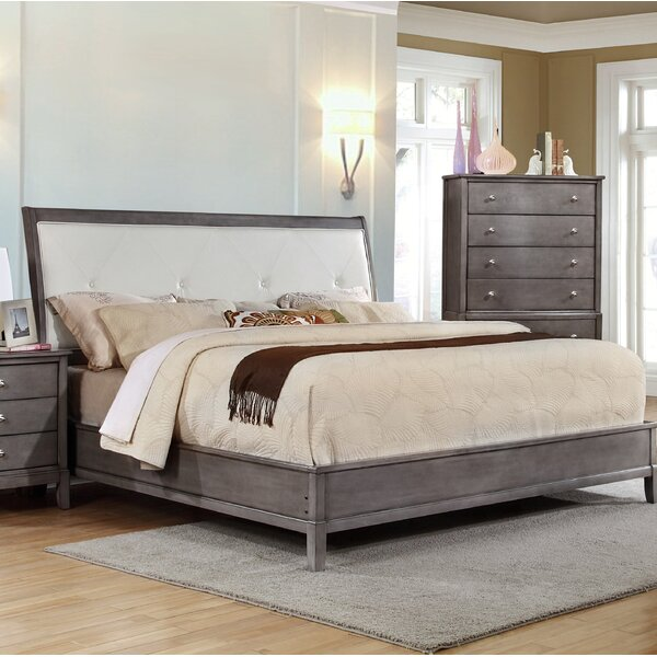 Tanya Upholstered Standard Bed by Gracie Oaks