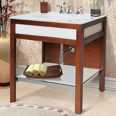 Park Avenue 31 Single Freestanding Vanity Set by DECOLAV