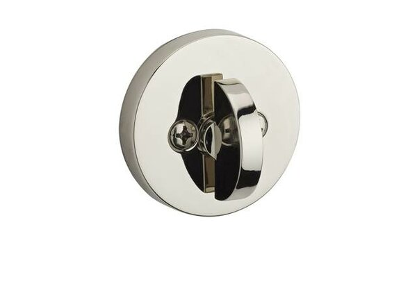 Contemporary Single Cylinder Patio Deadbolt by Baldwin