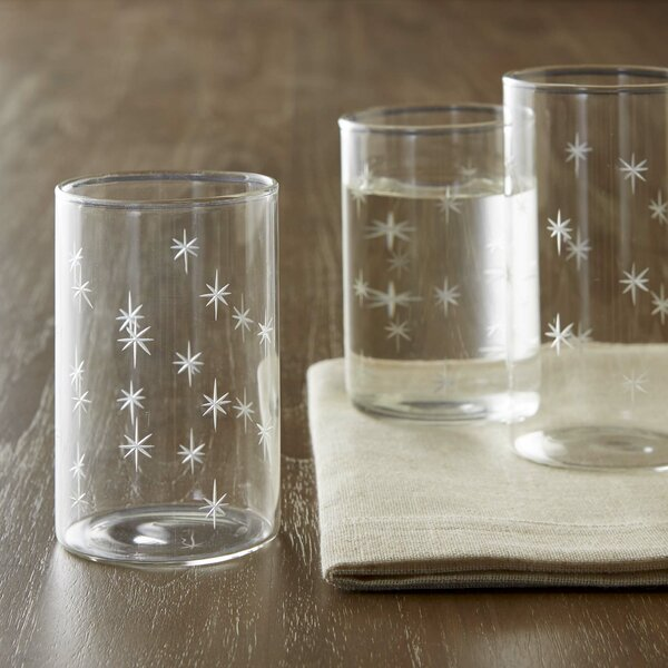 Styron 10 Oz. Galaxy Glasses (Set of 6) by Langley Street