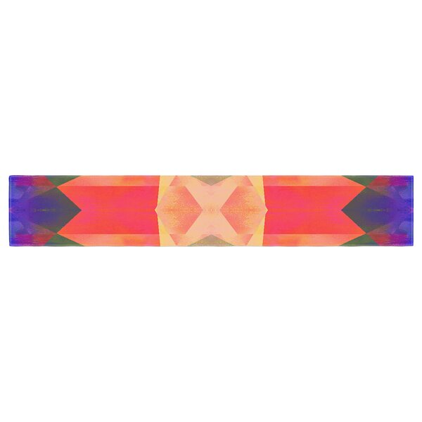 Nina May Iridescent Table Runner by East Urban Home