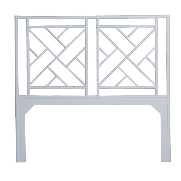 Olga Chippendale Open-Frame Headboard by Bloomsbury Market
