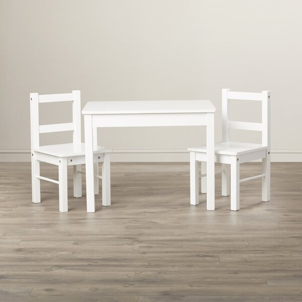 Suri Kids 3 Piece Table and Chair Set by Viv + Rae