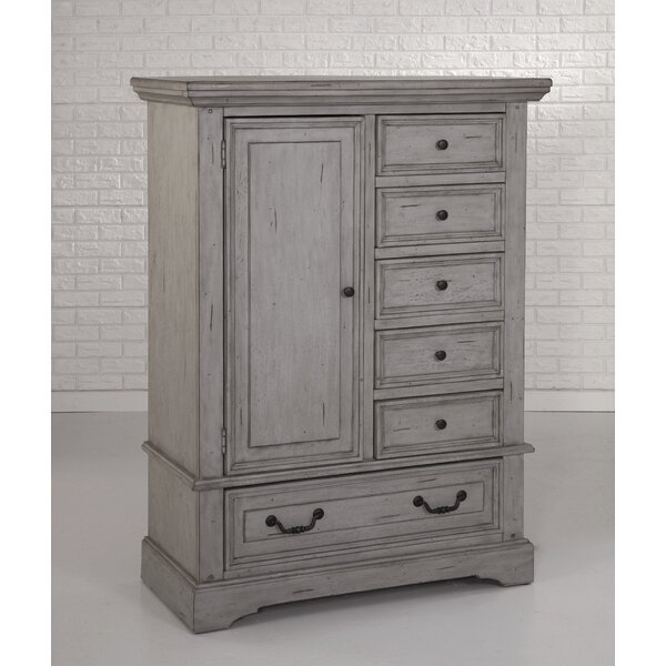 Kennison 6 Drawer Gentlemans Chest by One Allium Way