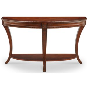 Stephenson Demilune Console Table by Darby Home Co