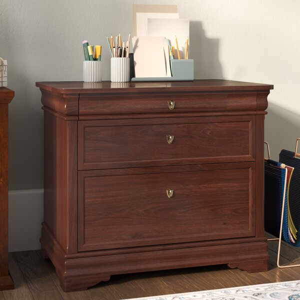 Flannagan 2 Drawer Filing Cabinet by Three Posts