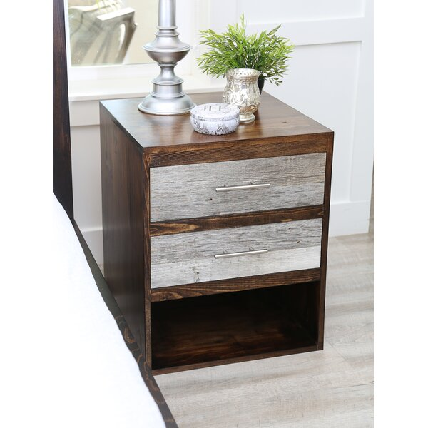 Frese 2 Drawer Nightstand by Union Rustic