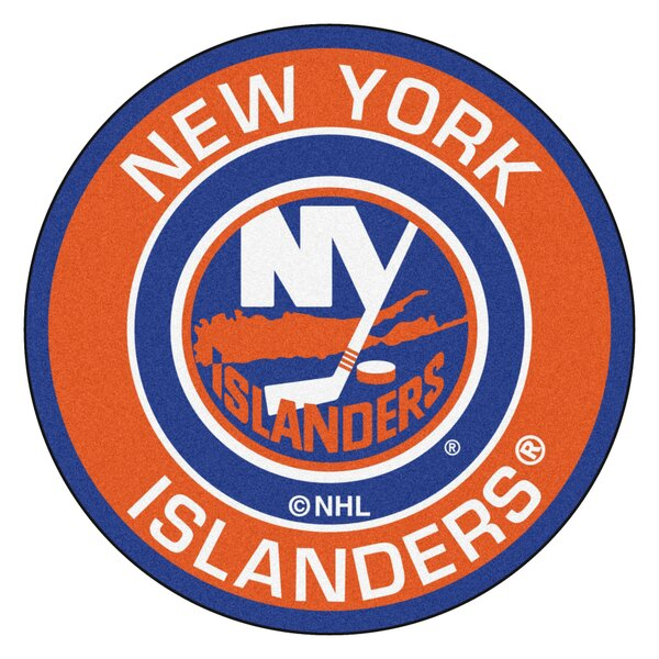 NHL New York Islanders Roundel Mat by FANMATS