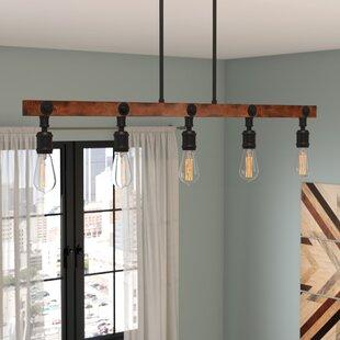 Deals Davidson 5-Light Kitchen Island Pendant By Trent Austin Design