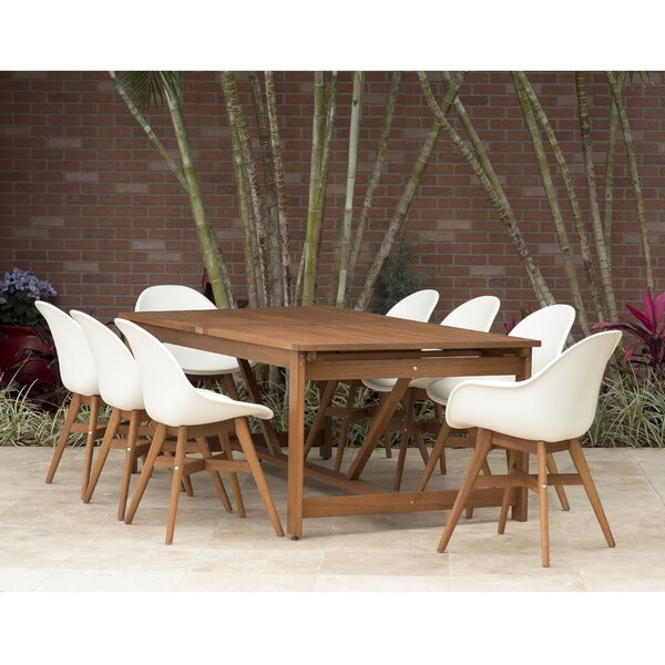 Cruce 9 Piece Dining Set by Corrigan Studio