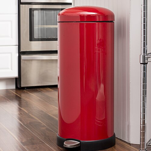 Honey Can Do Retro Kitchen Step On Trash Can Reviews Wayfair Ca