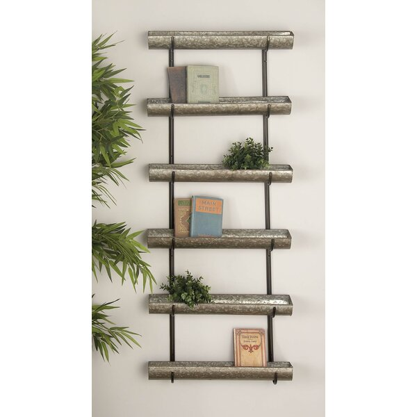 Osterley Iron 6 Tiered Wall Planter by Gracie Oaks