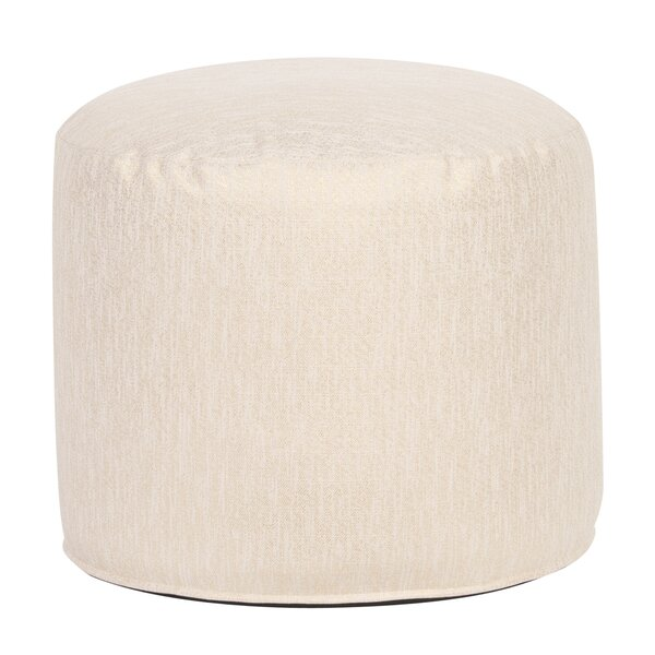 Crowl Glam Pouf by Bungalow Rose