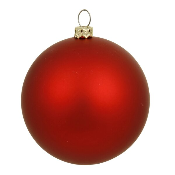 Ball Ornament with Cap by The Holiday Aisle