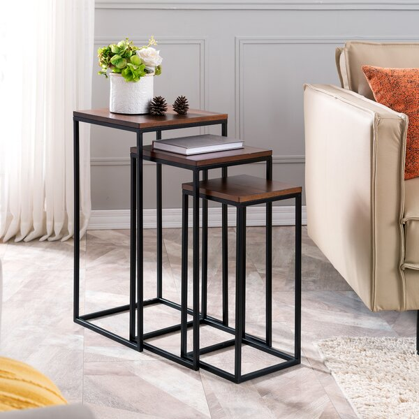 Brayden 3 Piece Nesting Tables by Williston Forge