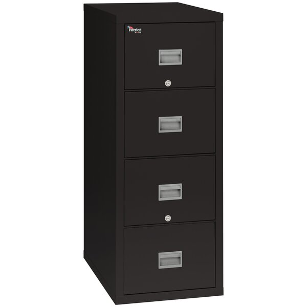 Patriot 4 Drawer Vertical Filing Cabinet by FireKing