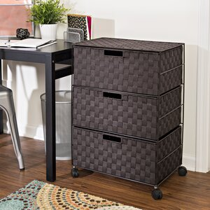 3 Drawer Storage Chest