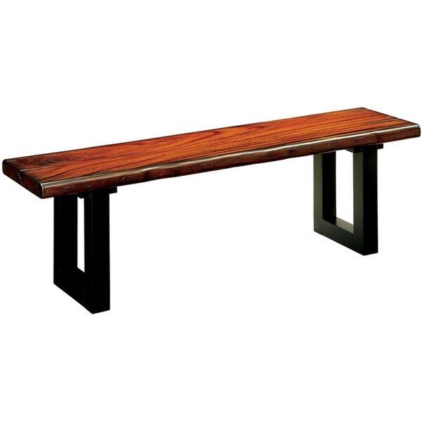 Colt Wood Bench by Gracie Oaks Gracie Oaks